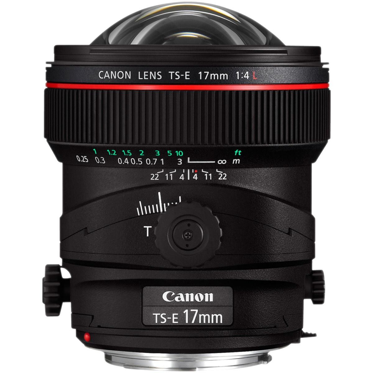 Canon EF 17 mm TS-E 1:4,0 L