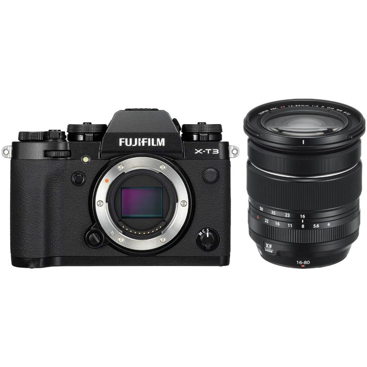 Fujifilm X-T3 mit 16-80 mm 1:4,0 Schwarz
