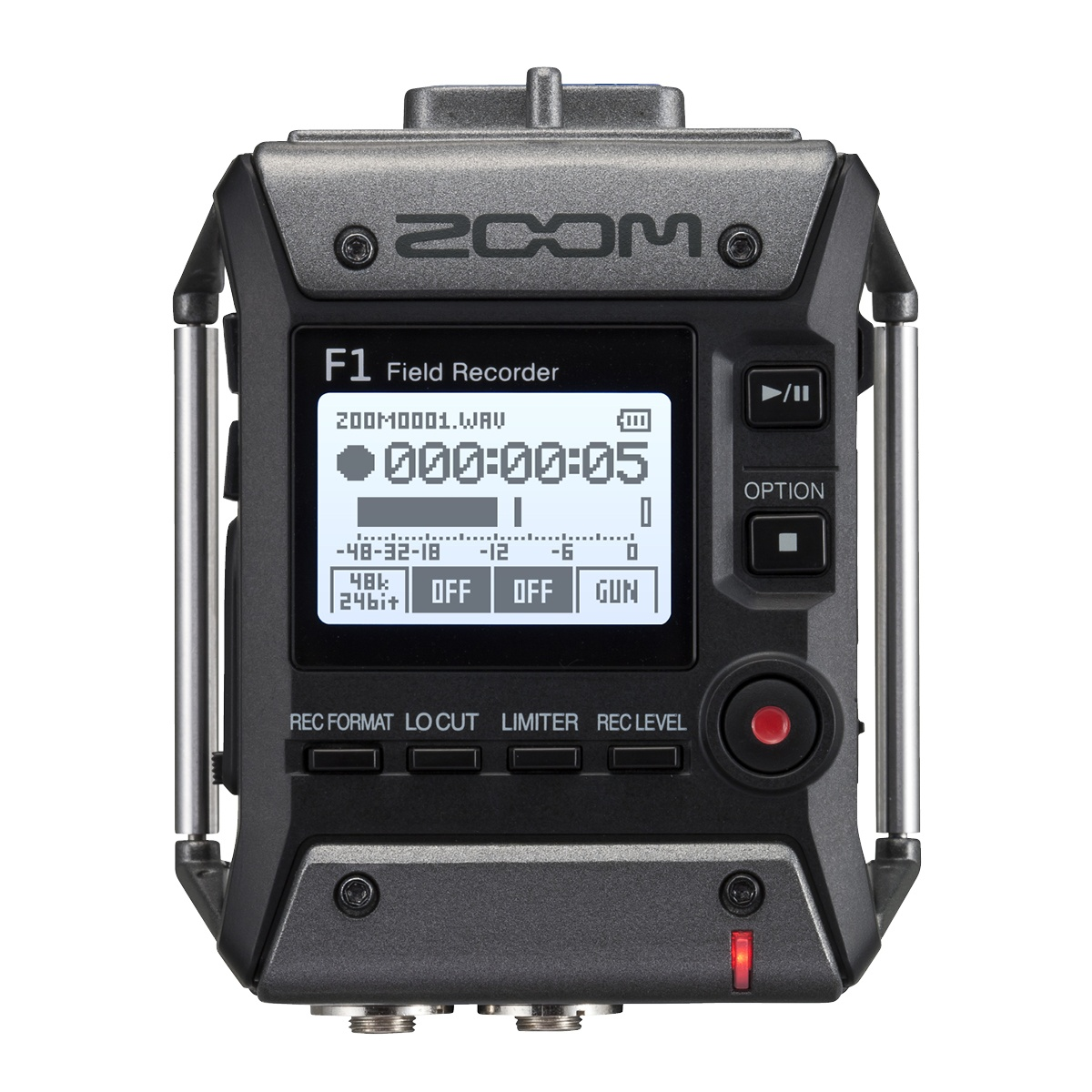Zoom F 1 SP Recorder + Shotgun Mikrophon