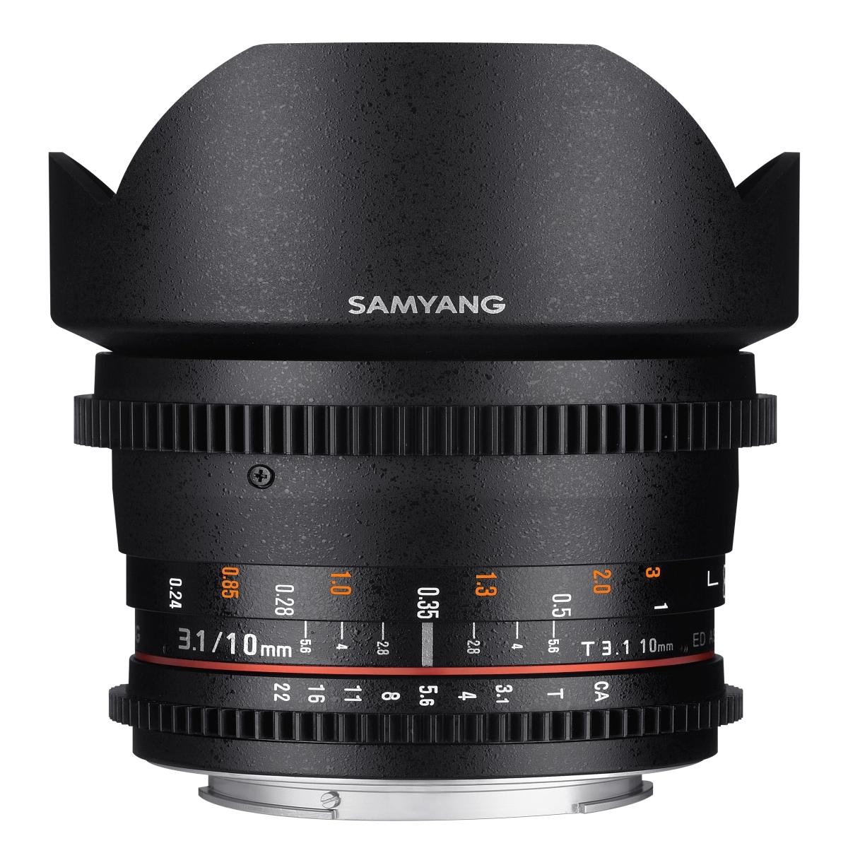 Samyang MF 10 mm 1:3,1 Video für MFT