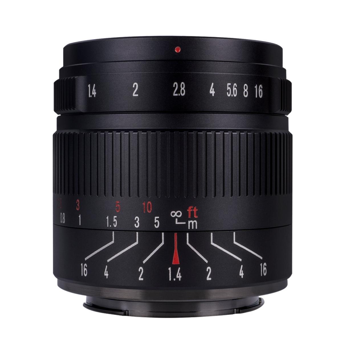 7Artisans 55 mm 1:1,4 II für Fujifilm X