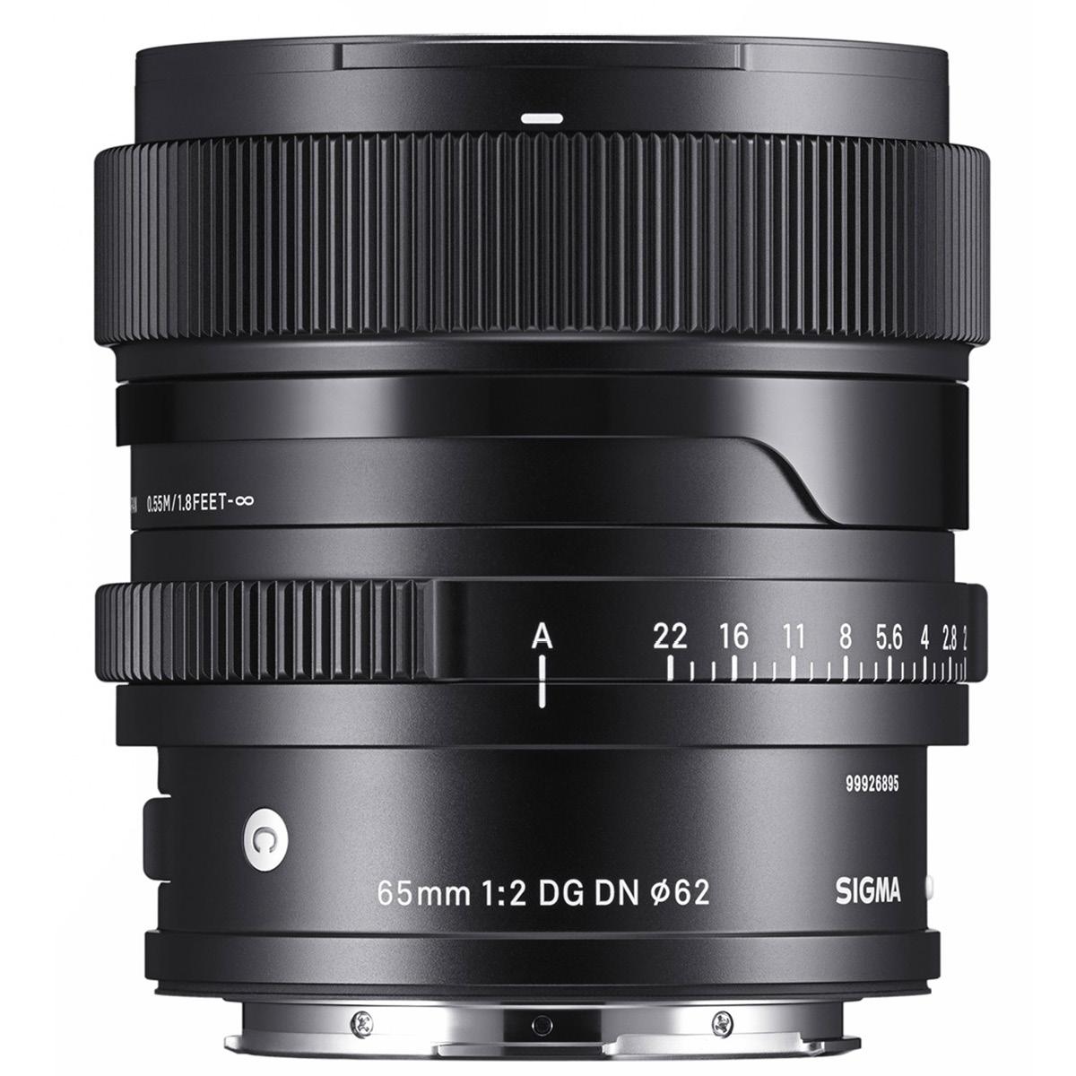 Sigma 65 mm 1:2,0 DG DN (C) L-Mount