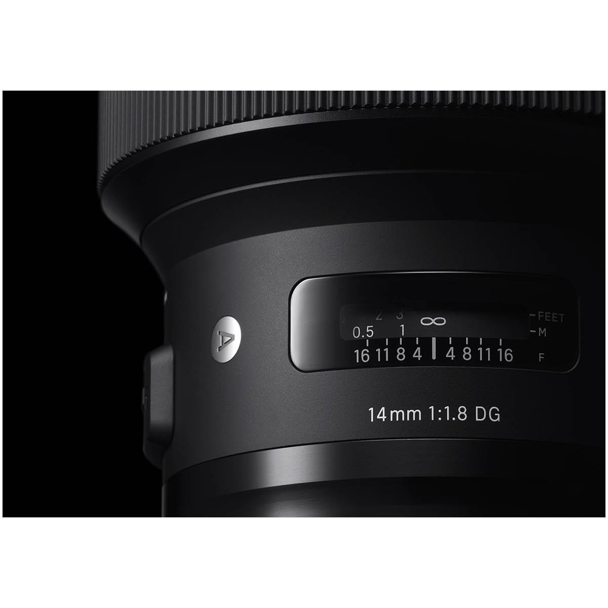 Sigma 14 mm 1:1,8 DG HSM Art L-Mount
