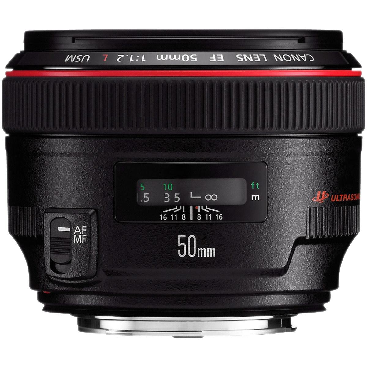 Canon EF 50 mm 1:1,2 L USM
