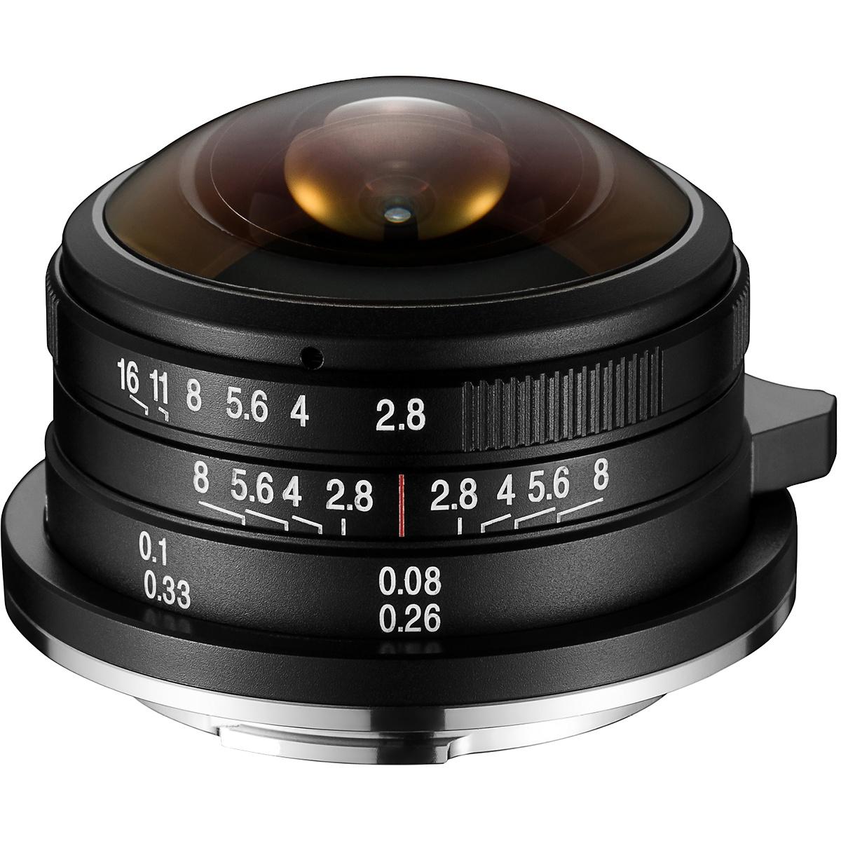 Laowa 4 mm 1:2,8 Fisheye für Fujifilm X