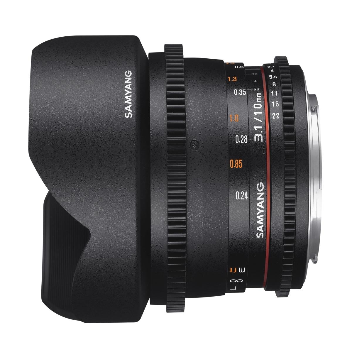 Samyang MF 10 mm 1:3,1 Video für Canon EF-M