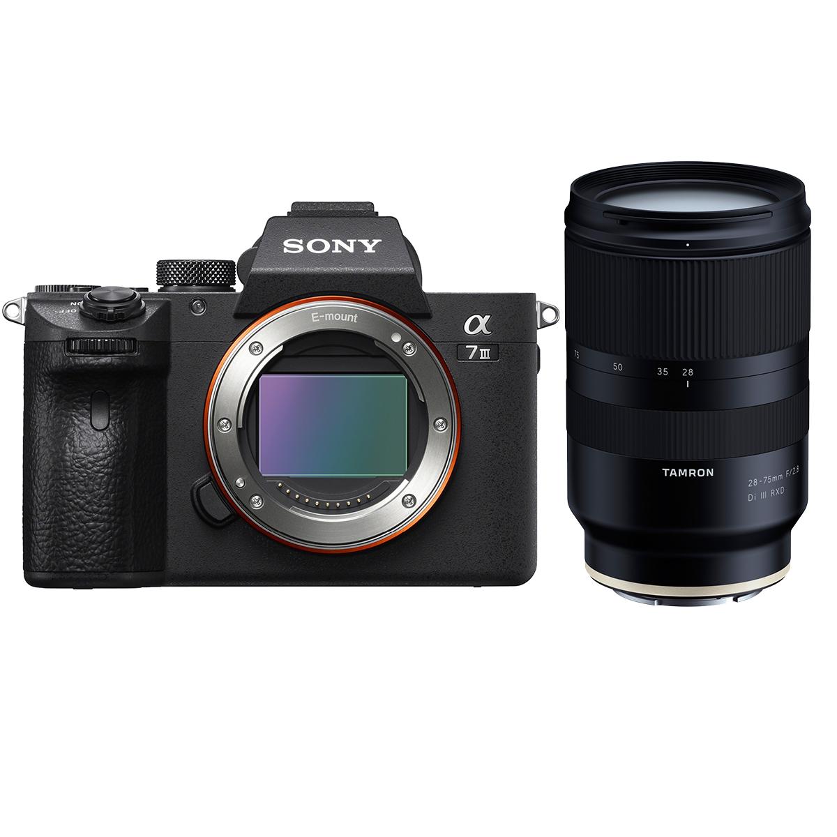 Sony Alpha 7 III + Tamron 28-75mm 1:2,8 Di III RXD