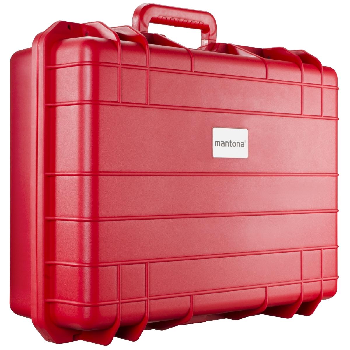 Mantona Outdoor Schutzkoffer L, rot