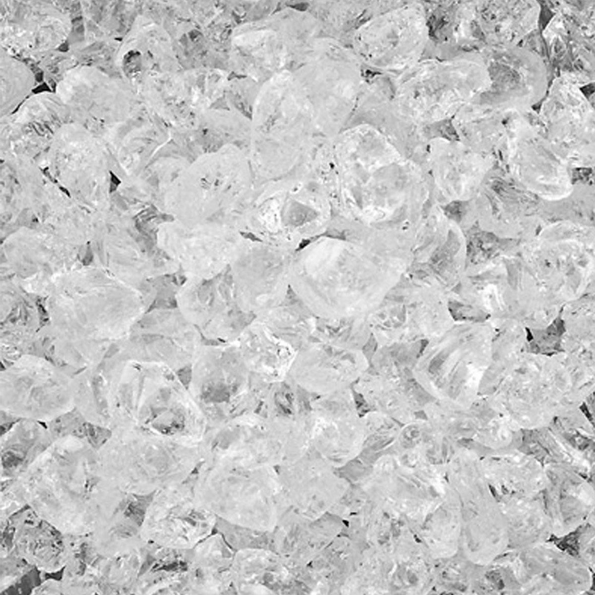 B.I.G. Deko-Crasheis Klarglas grob, 4-10mm, 1000ml