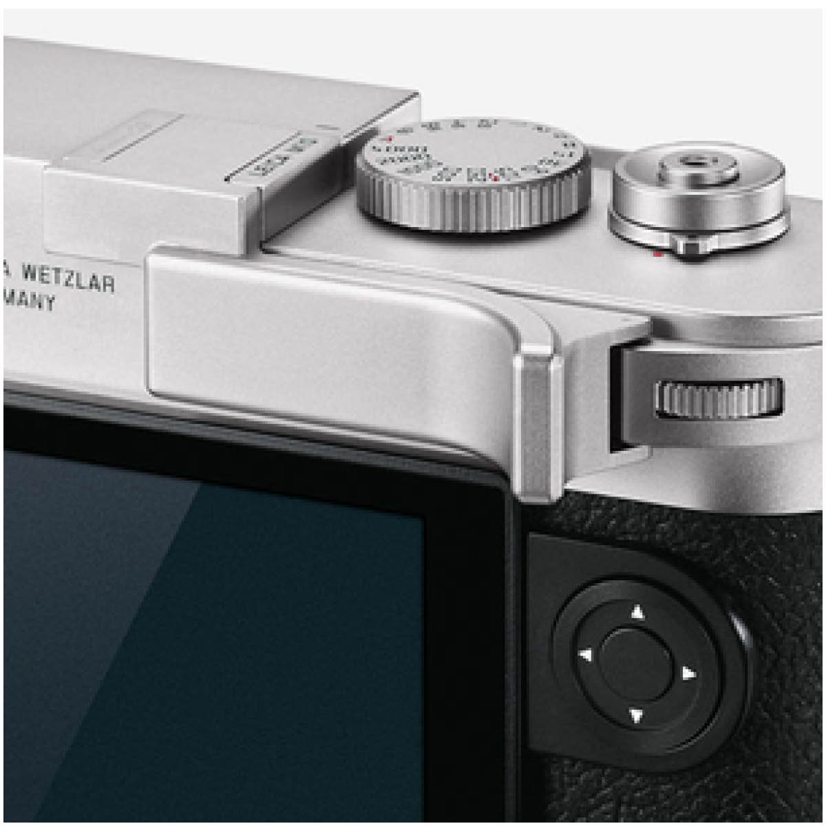 Leica Daumenstütze Silber für Leica M10