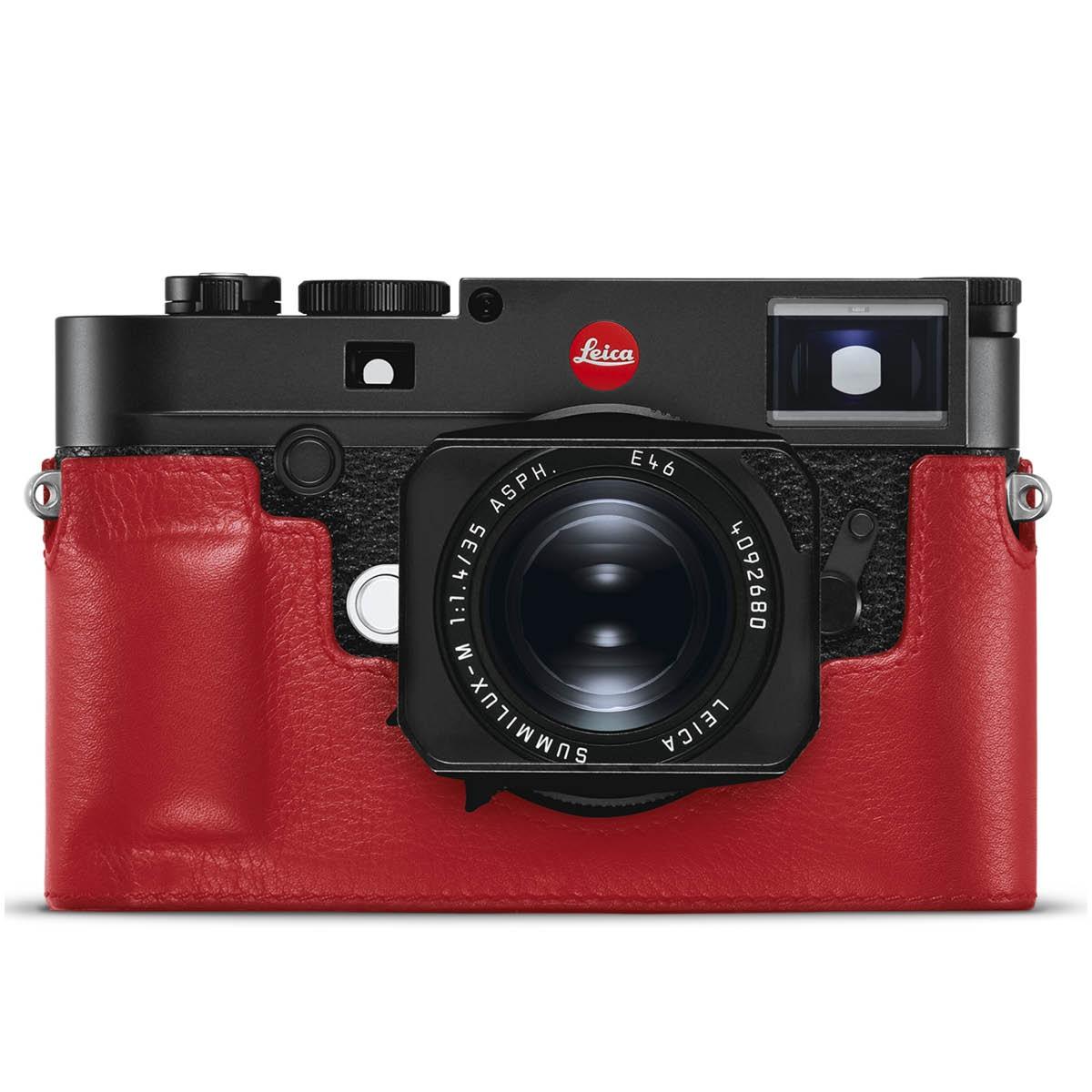 Leica Lederprotektor Rot für M10