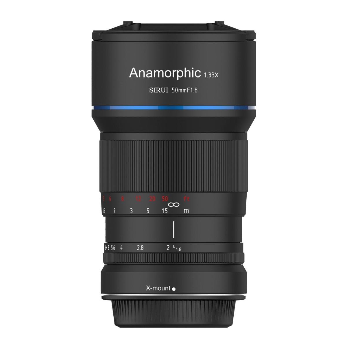 Sirui 50 mm 1:1,8 1,33x Anamorph für Sony E-Mount