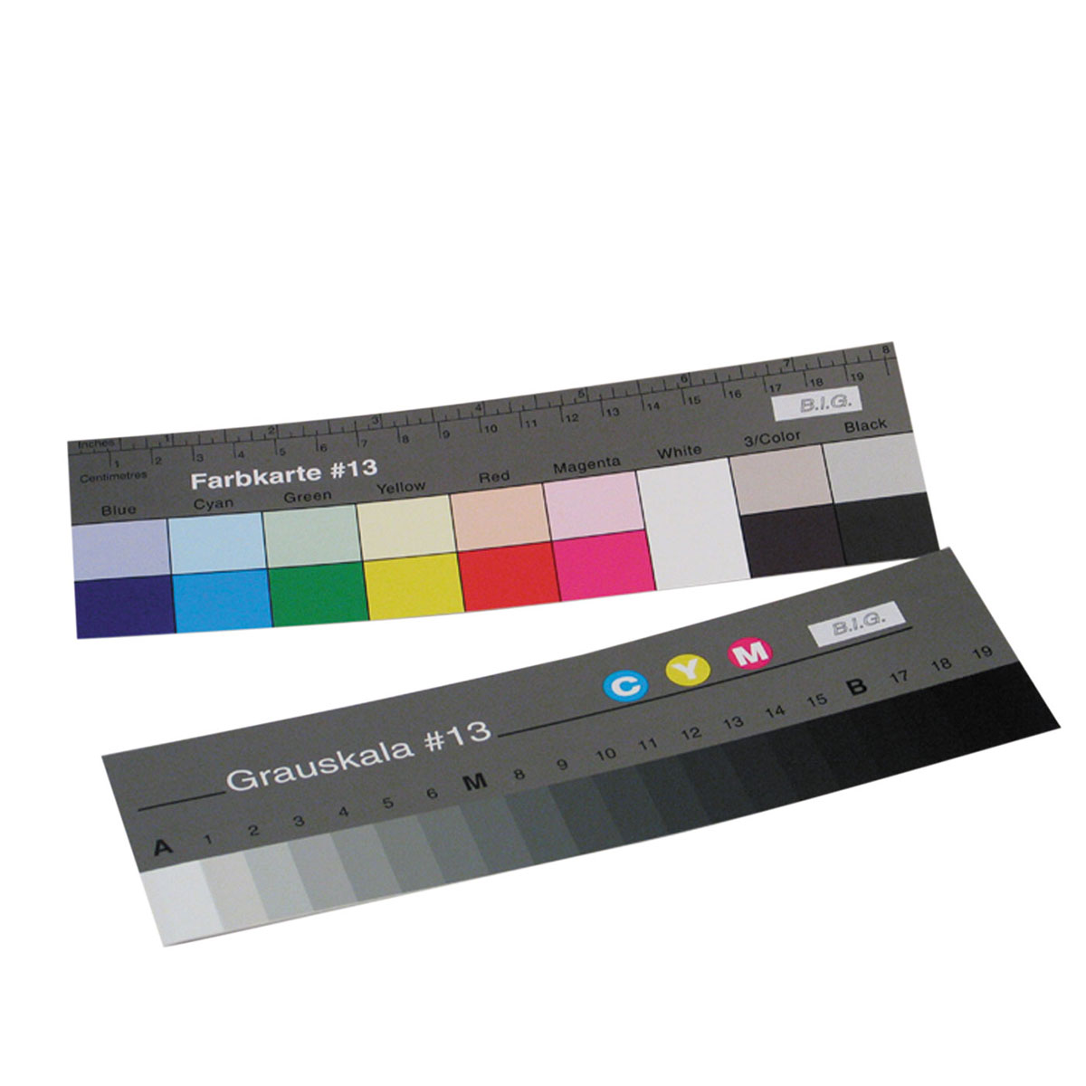 B.I.G. Stufengraukeil und Farbkarte #13  18 cm