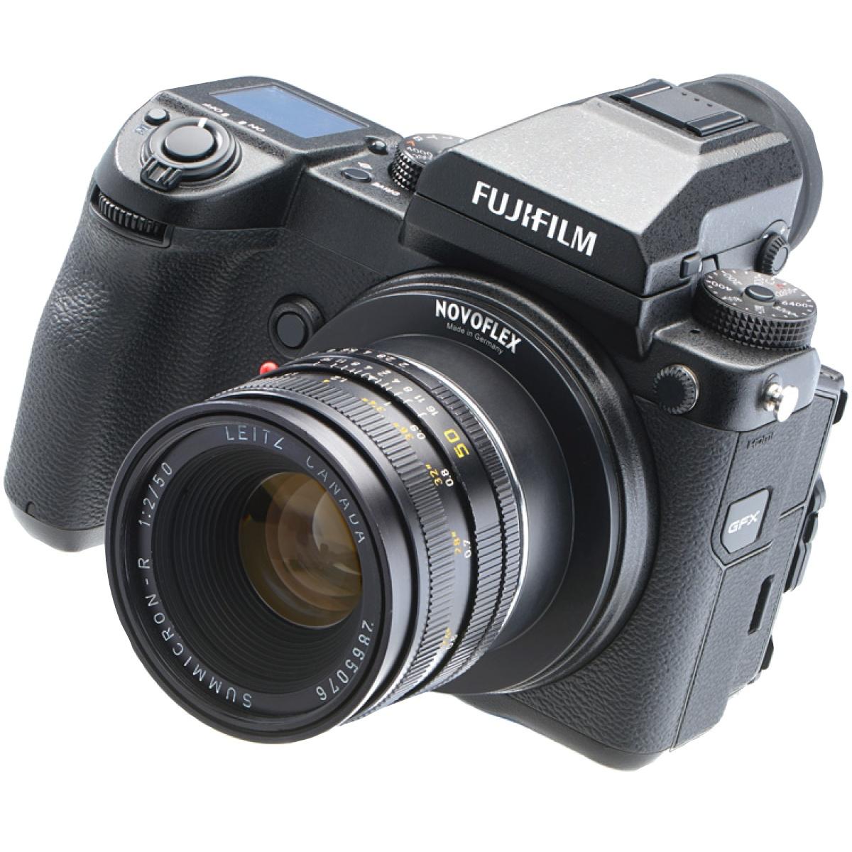 Novoflex Adapter Leica R-Objektive an Fuji GFX