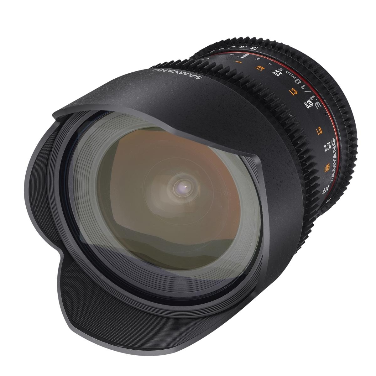 Samyang MF 10 mm 1:3,1 Video für Sony A