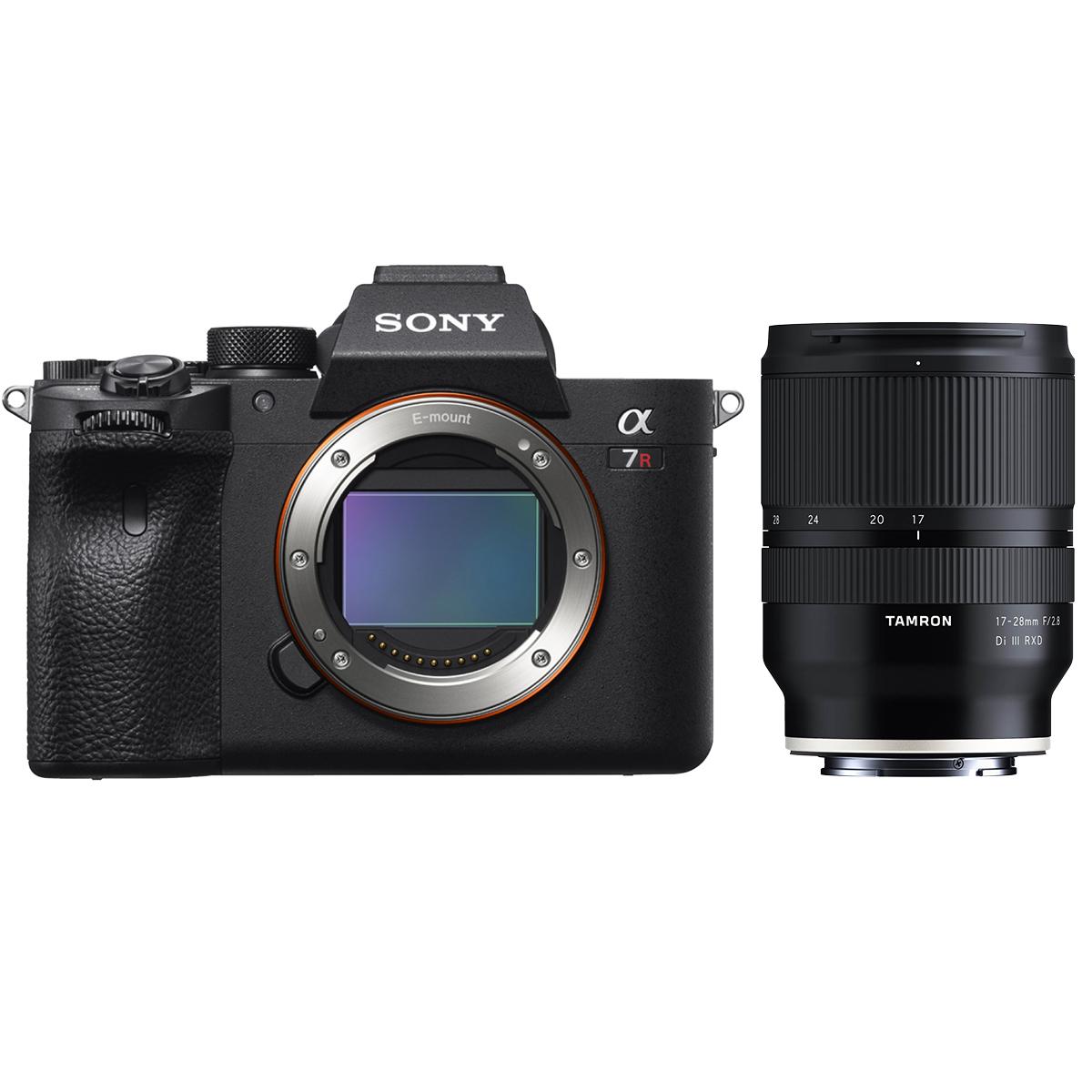 Sony Alpha 7R III Kit mit Tamron 17-28 mm 1:2,8 Di III RXD