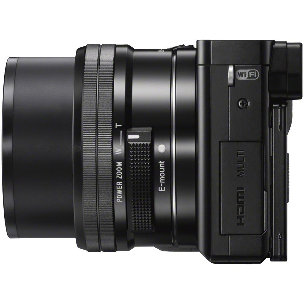 Sony Alpha 6000 Kit + 16-50mm + 55-210mm Schwarz