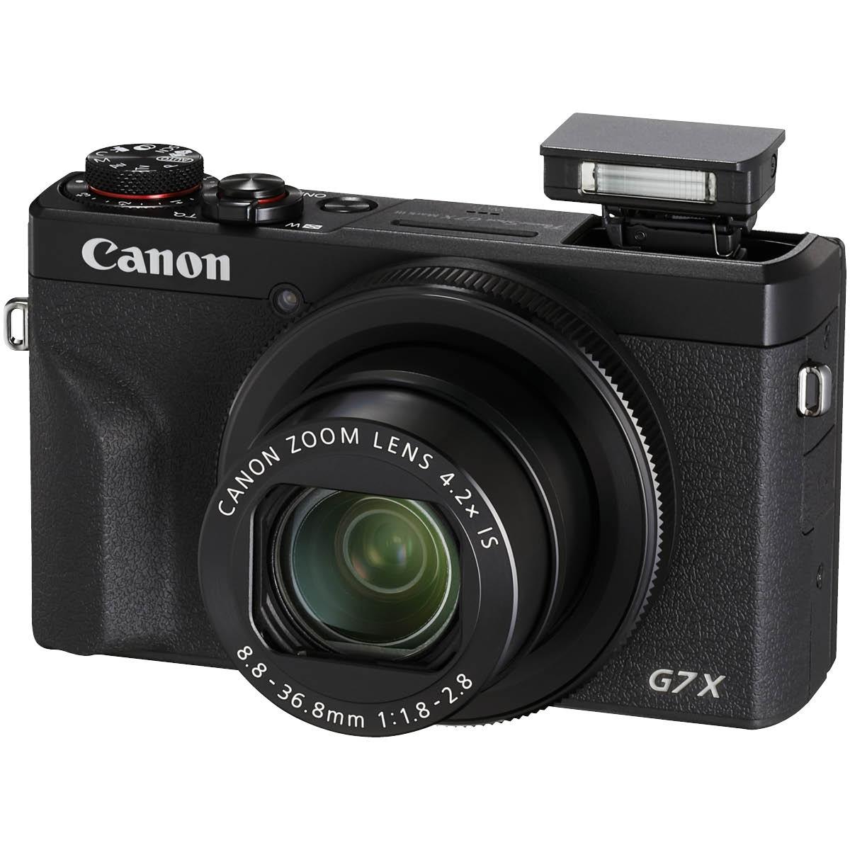 Canon Powershot G7X III Schwarz