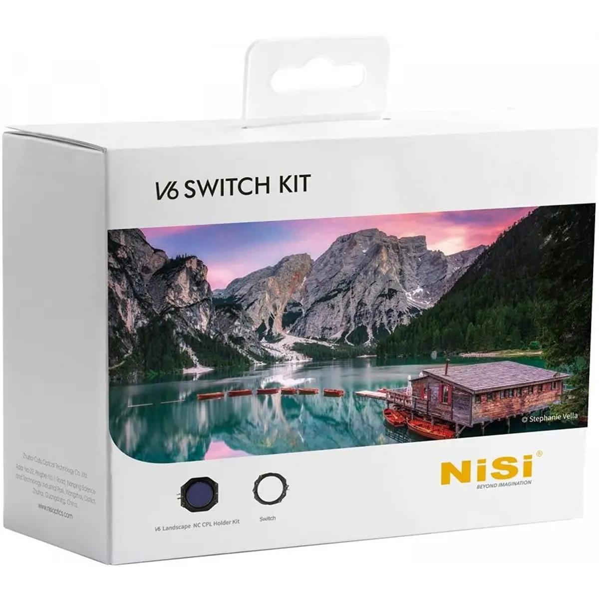 Nisi V6 + Switch Halterkit