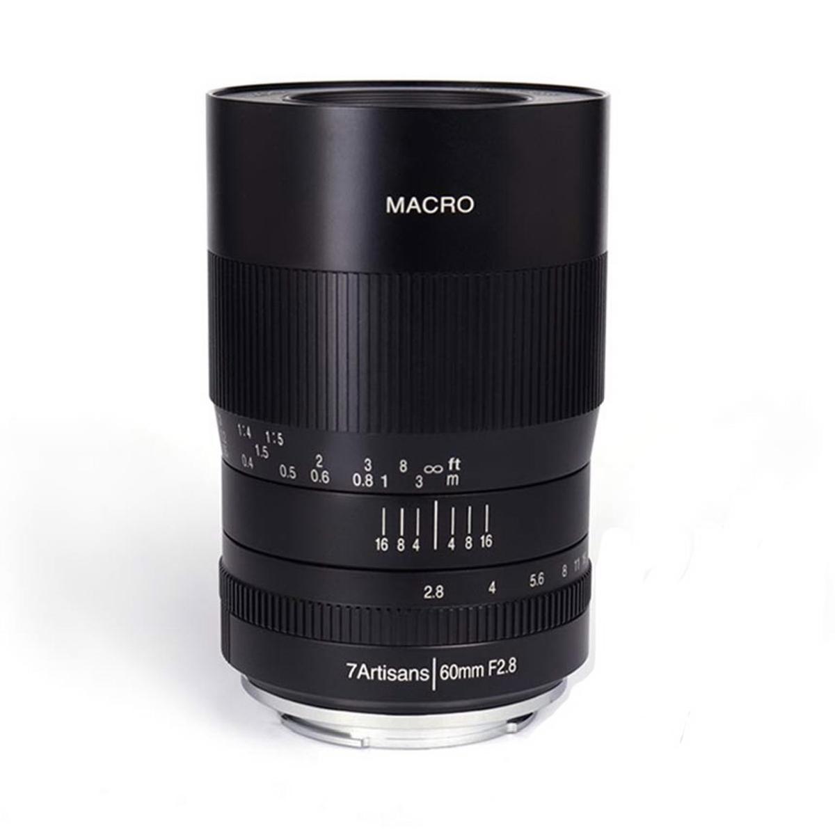 7Artisans 60 mm 1:2,8 Macro für Fujifilm X