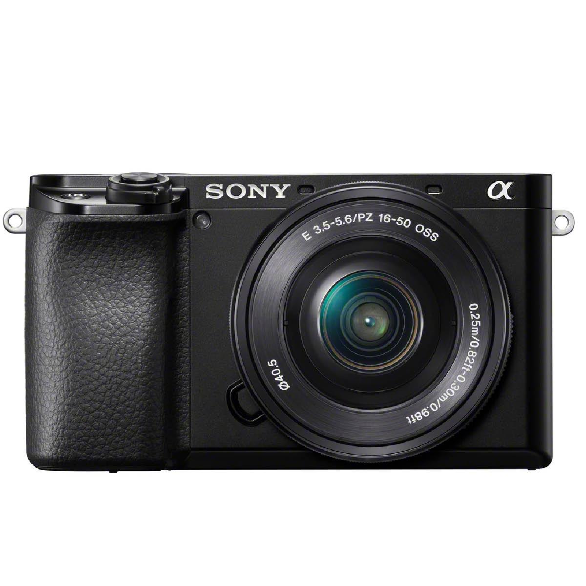 Sony Alpha 6100 Kit mit 16-50 mm 1:3,5-5,6 Schwarz