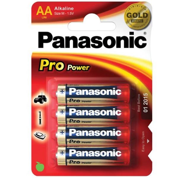 Panasonic Mignon AA 4er Batterien