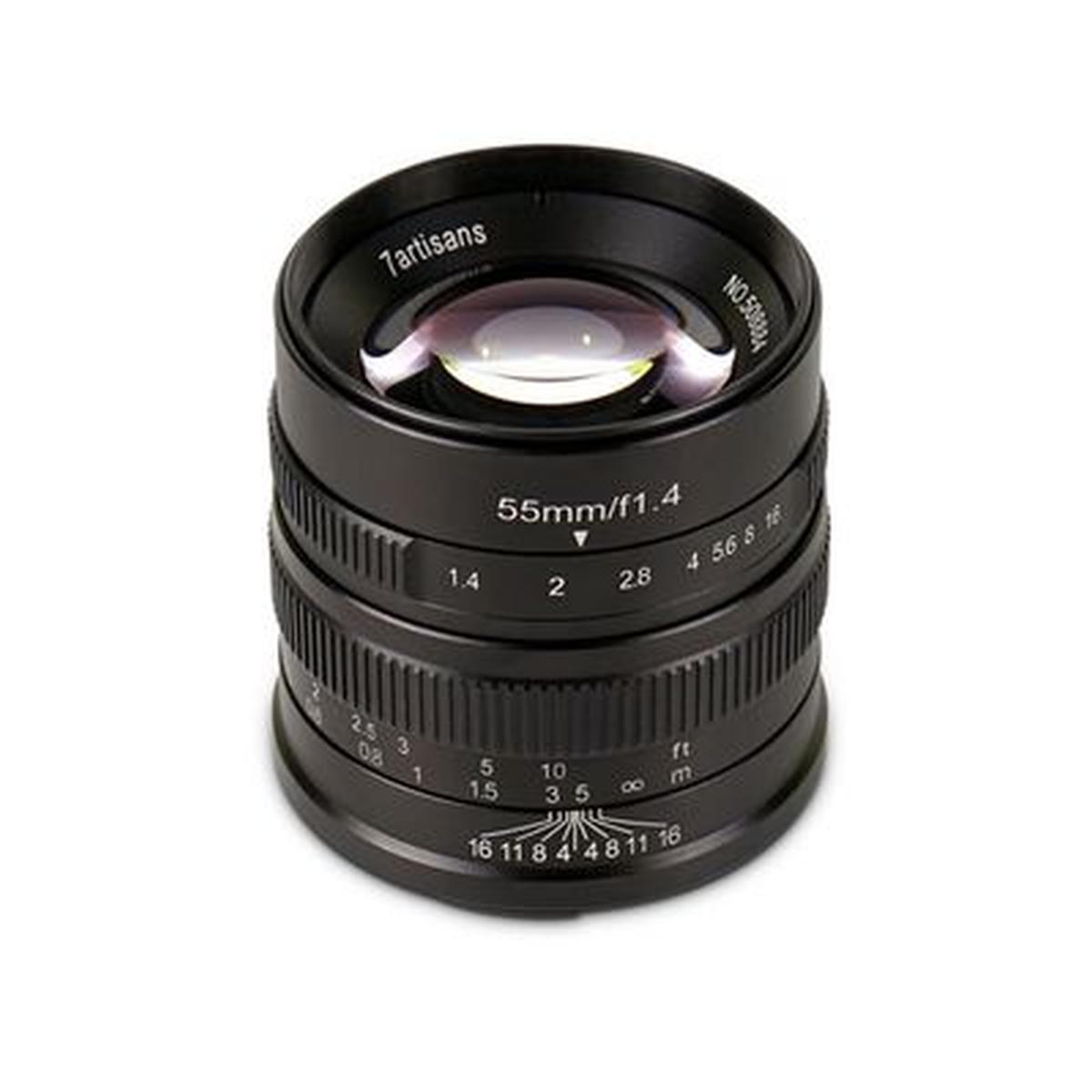 7Artisan 55 mm 1:1,4 für Fuji X