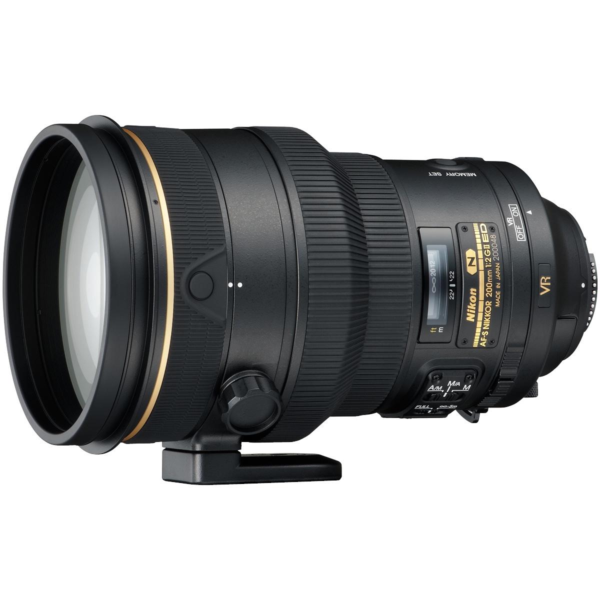 Nikon 200 mm 1:2,0 AF-S Nikkor G ED VR II