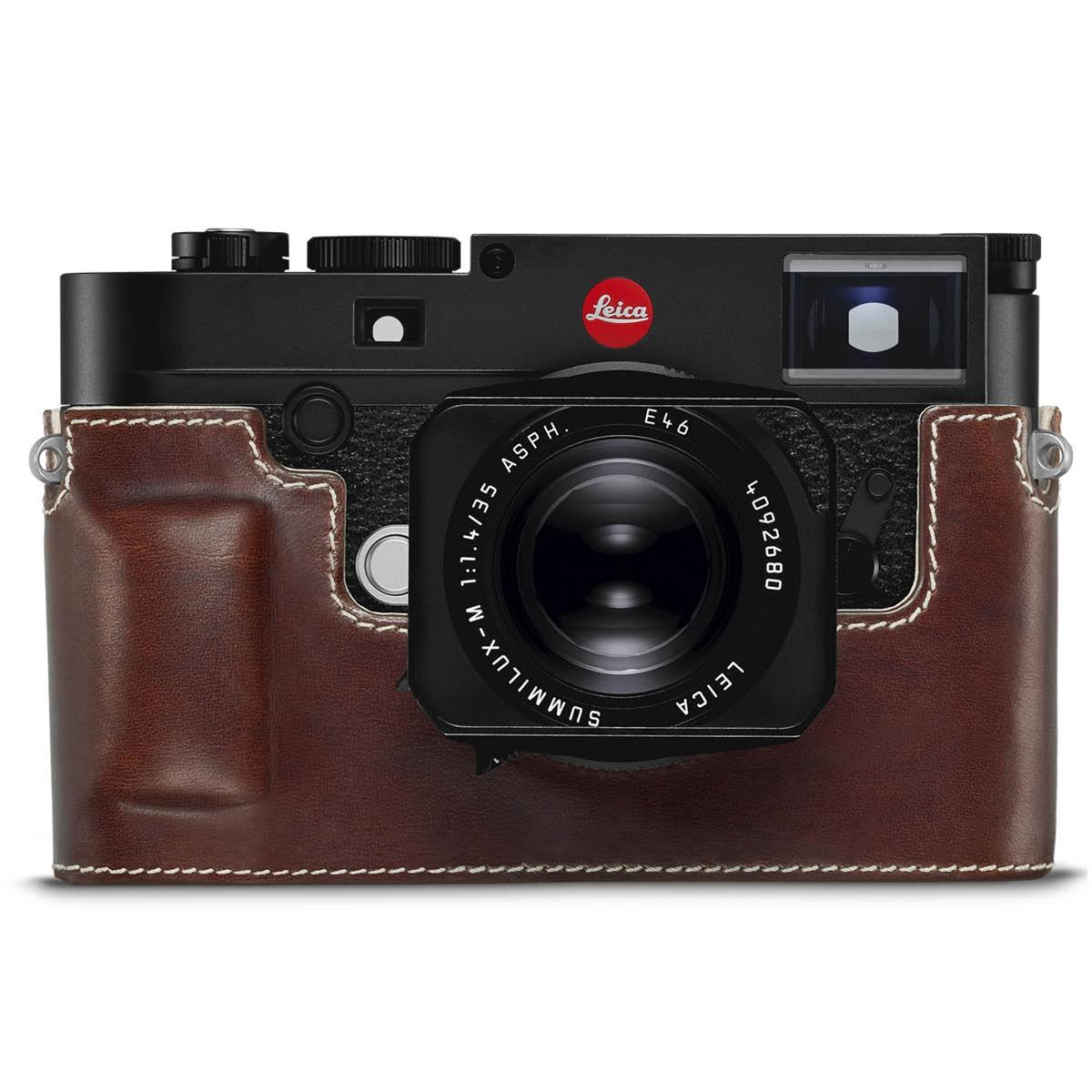 Leica Lederprotektor Braun für M10