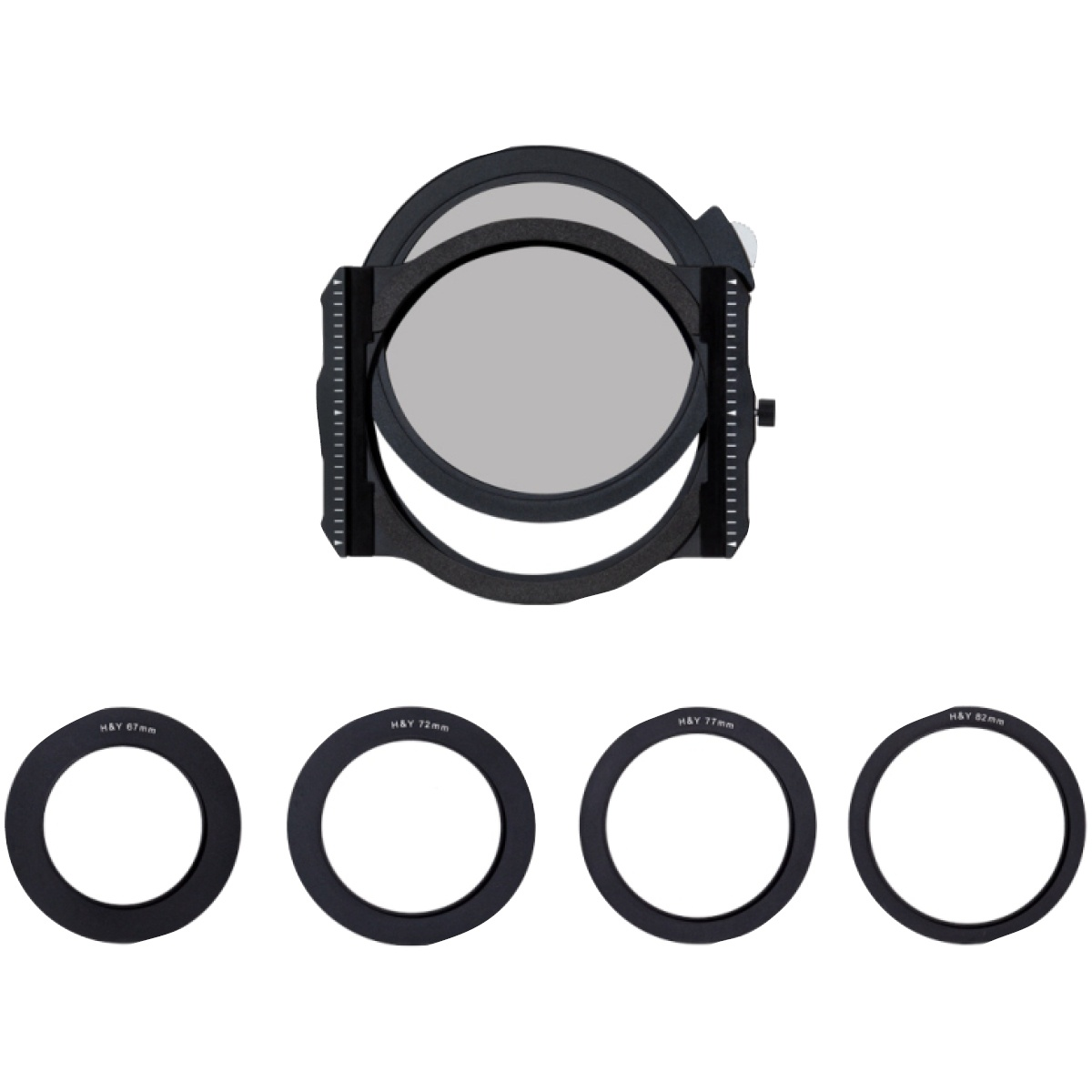 H&Y Filterhalter K-Serie mit Polarisationsfilter 95 mm