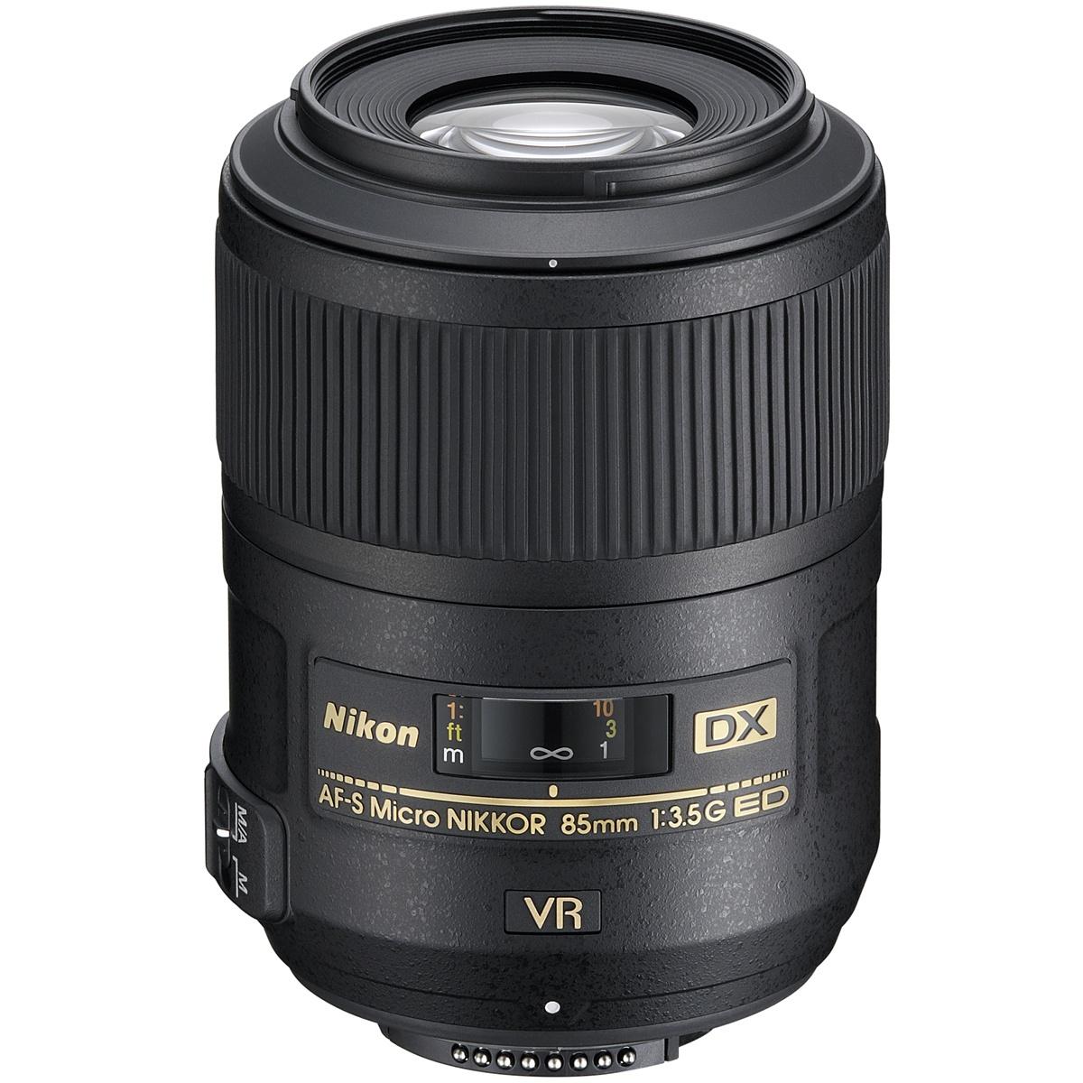 Nikon 85 mm 1:3,5 AF-S DX Micro G VR