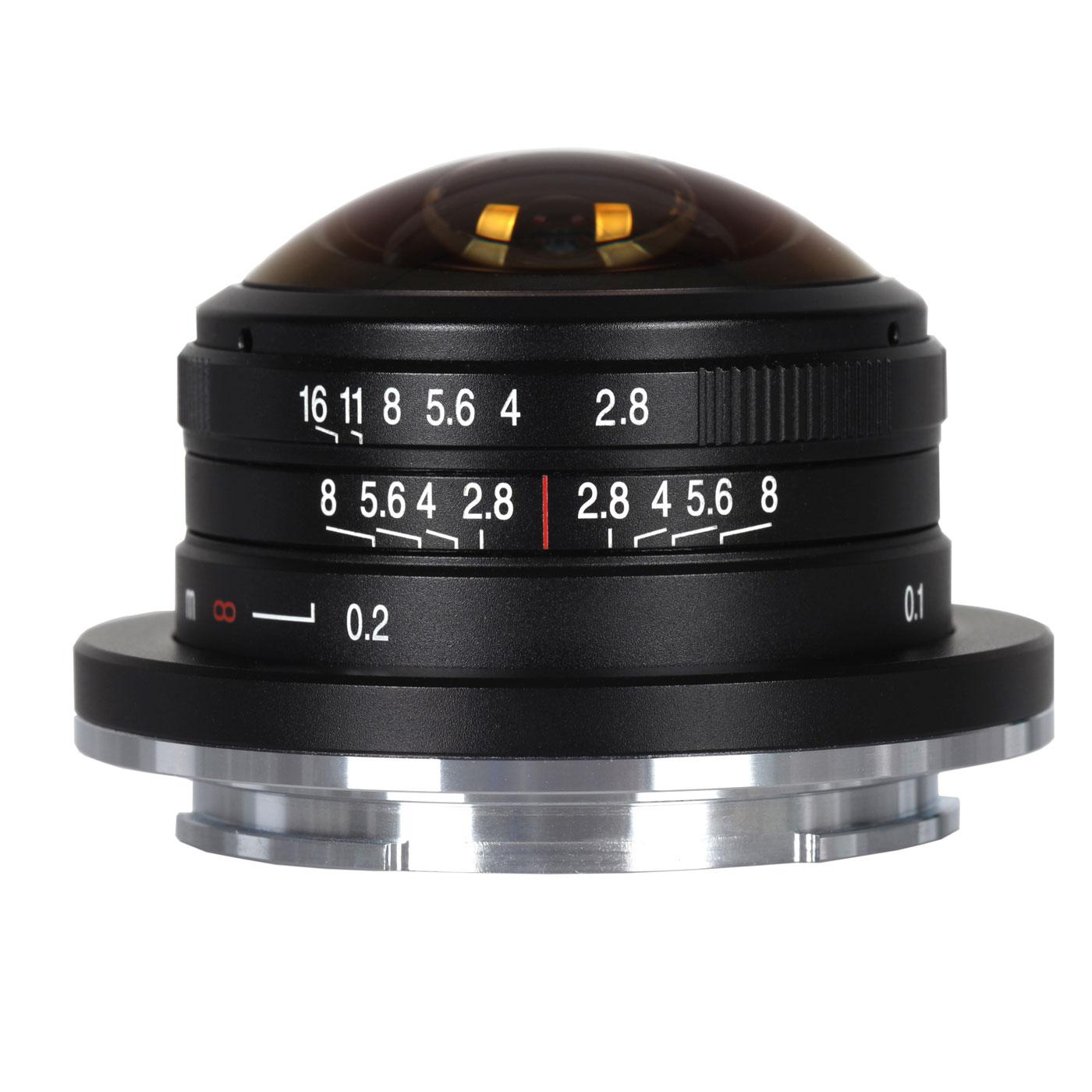 Laowa 4 mm 1:2,8 Fisheye für Canon EOS-M