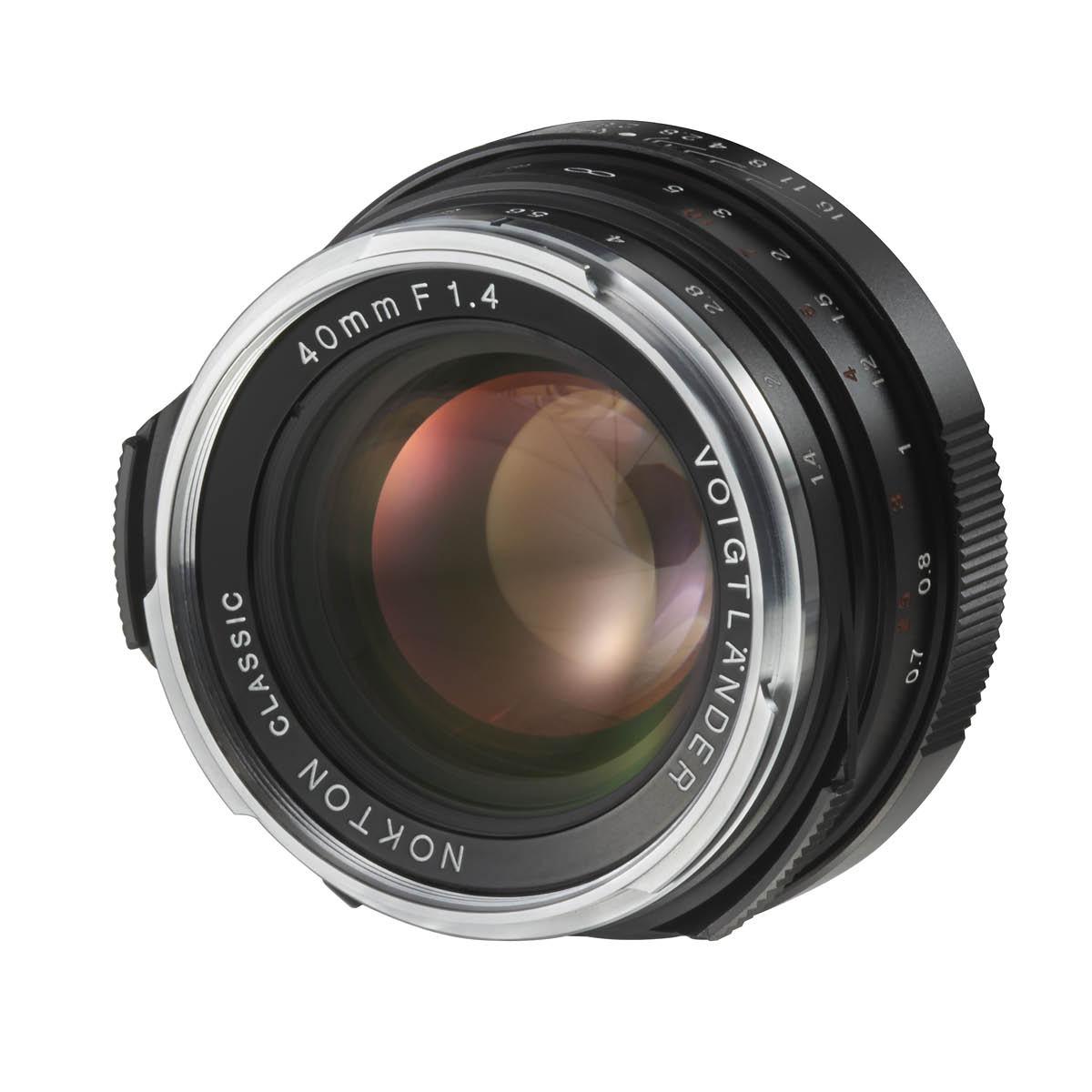 Voigtländer 40 mm 1:1,4 Nokton Classic MC VM