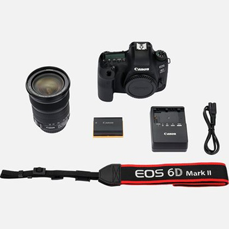 Canon EOS 6D Mark II Kit mit 24-105 mm 1:3,5-5,6