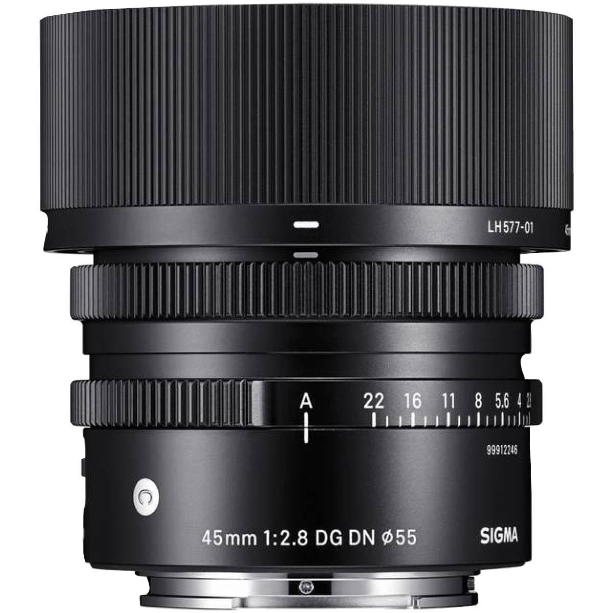 Sigma 45 mm 1:2,8 DG DN (C) FE-Mount