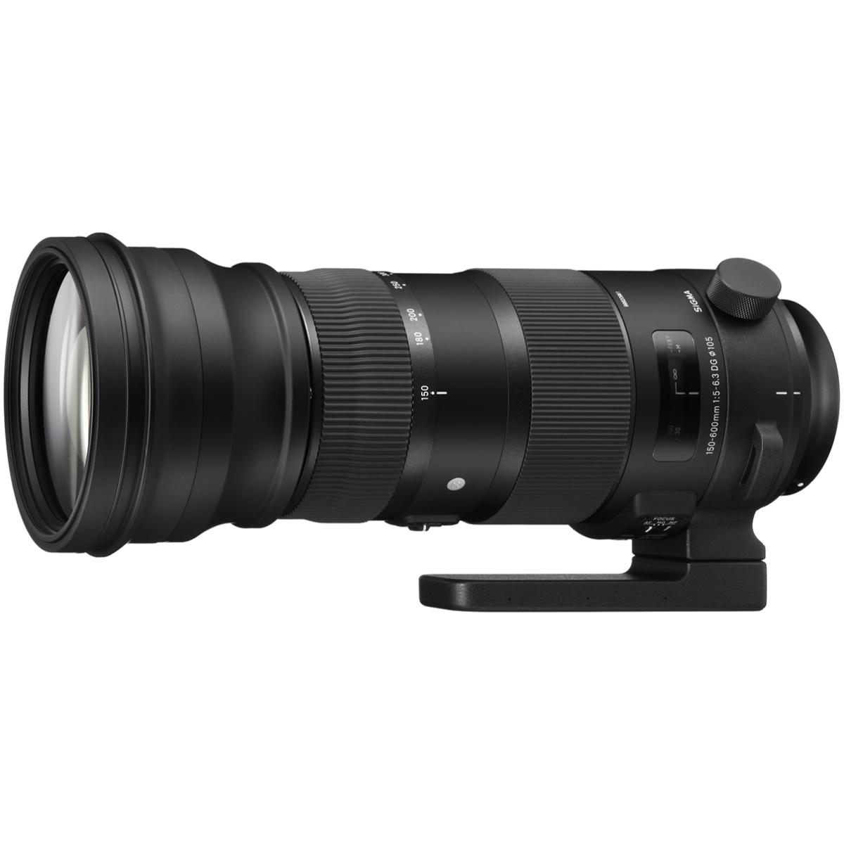 Sigma 150-600 mm 1:5,0-6,3 DG OS HSM (S) EF