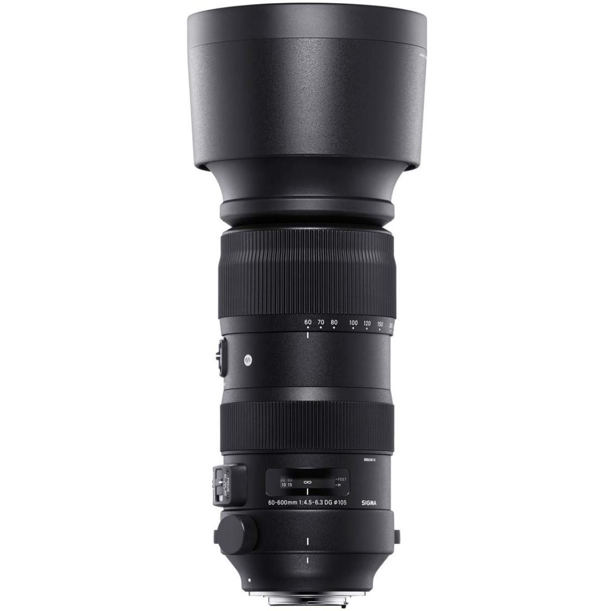 Sigma 60-600 mm 1:4,5-6,3 DG OS HSM (S) FX