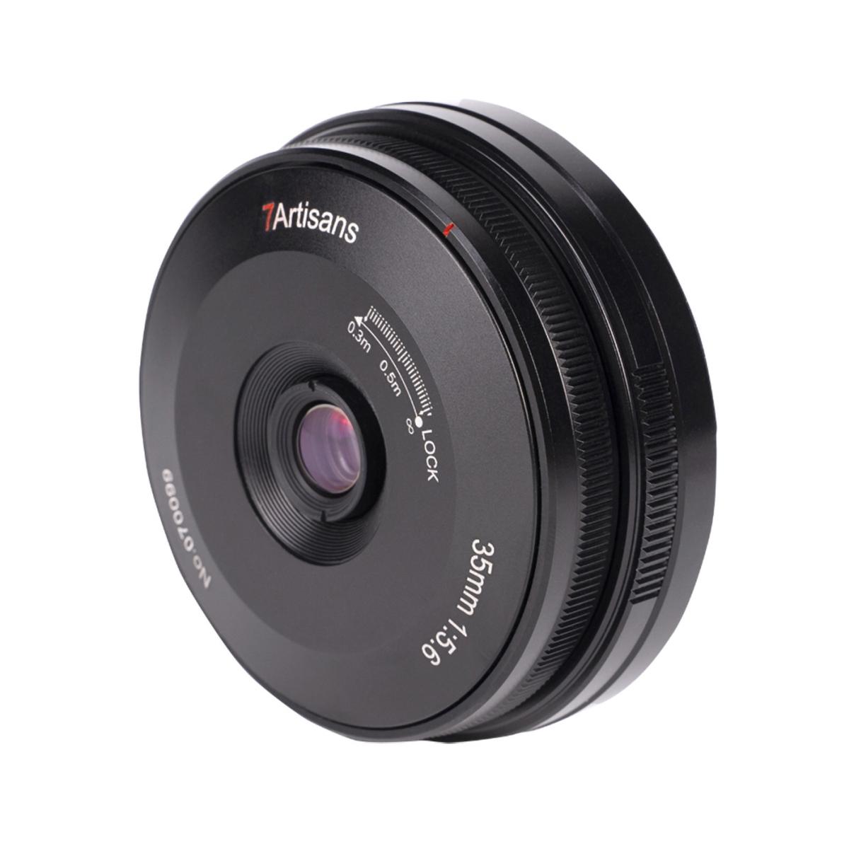 7Artisans 35 mm 1:5,6 Pancake für Nikon Z