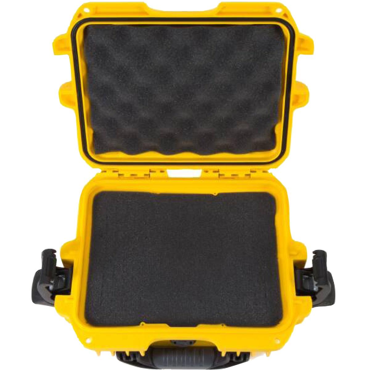 Nanuk Koffer 905 mit Schaumstoffeinlage Gelb