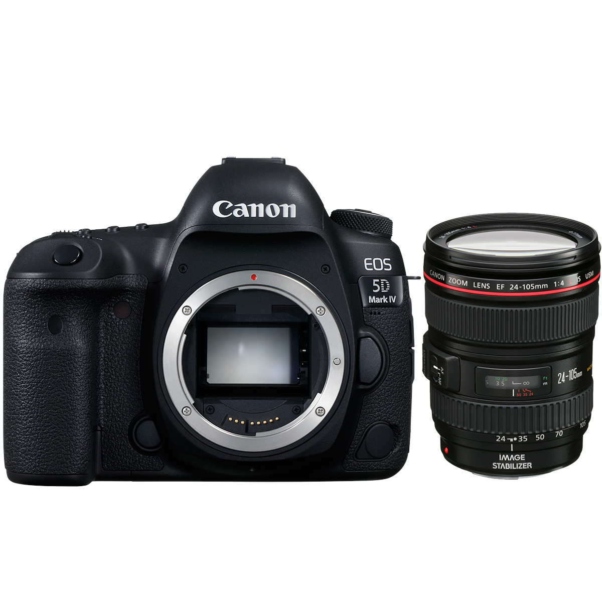 Canon EOS 5D Mark IV + EF 24-105mm 1:4,0 L IS II USM