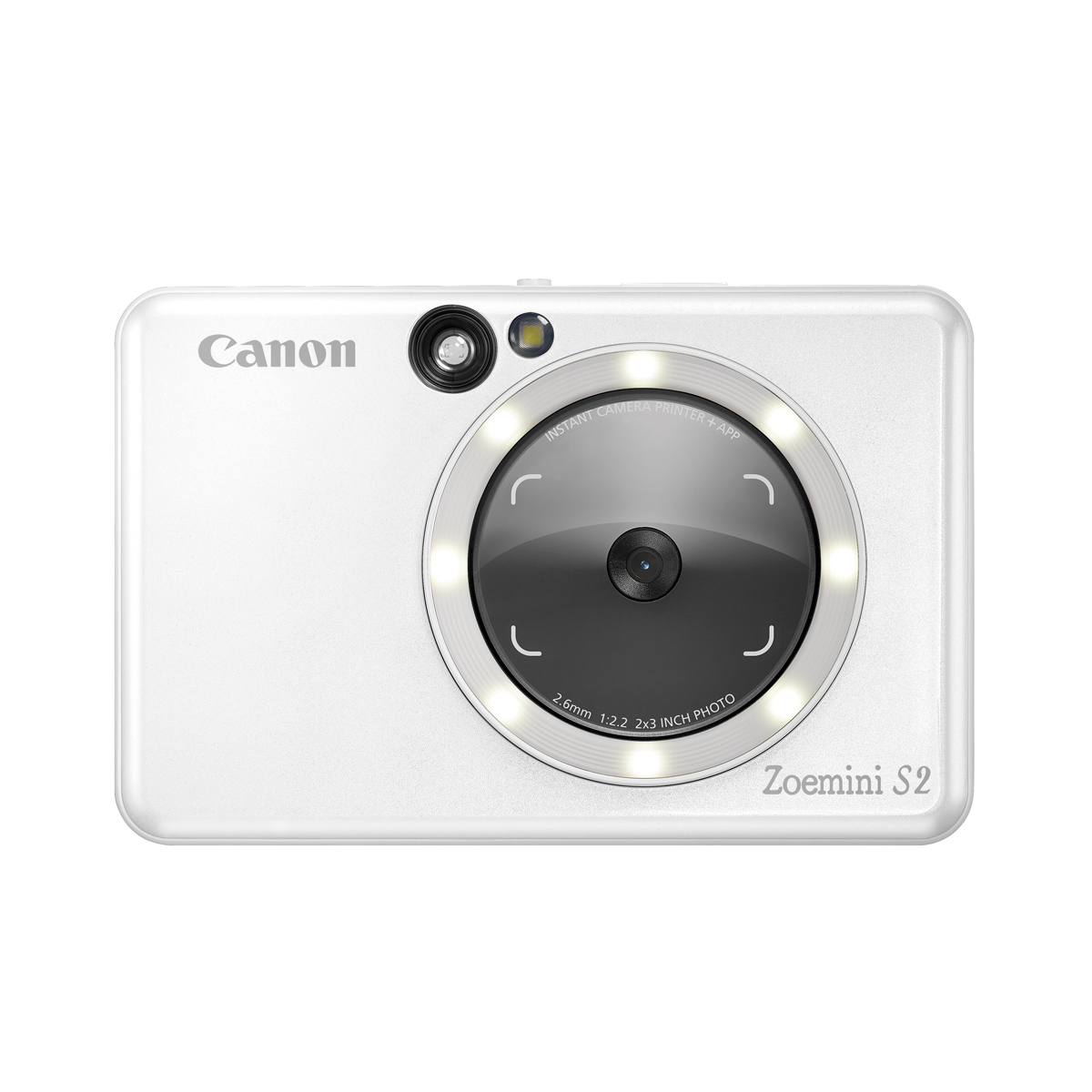 Canon Zoemini S2 Sofortbildkamera Pearlweiss