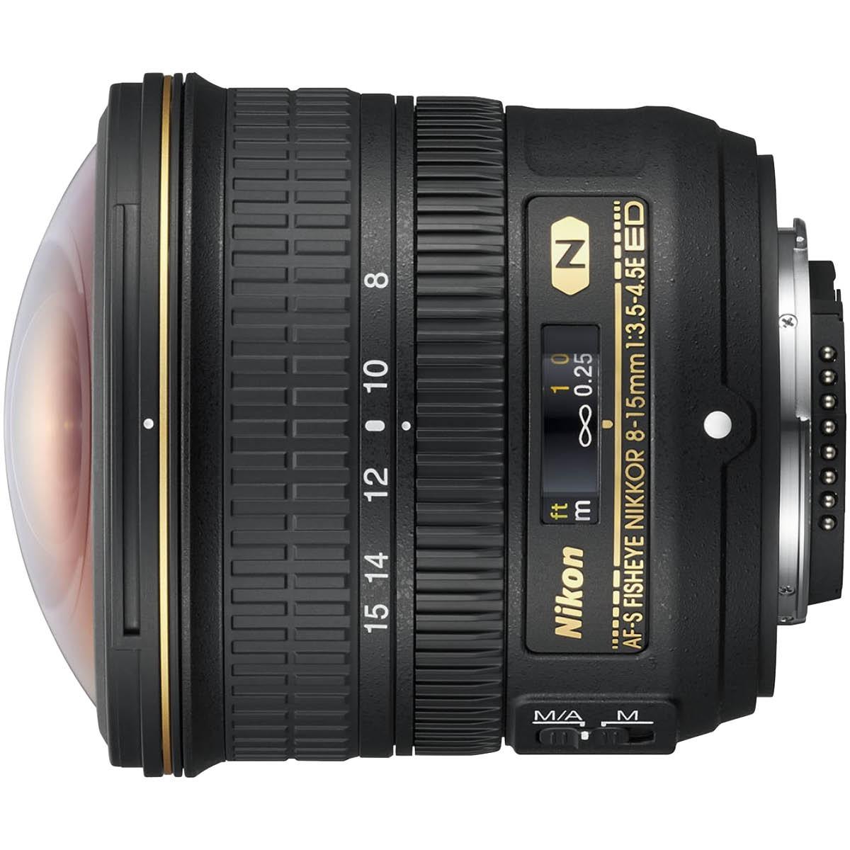 Nikon 8-15 mm 1:3,5-4,5 AF-S Fisheye