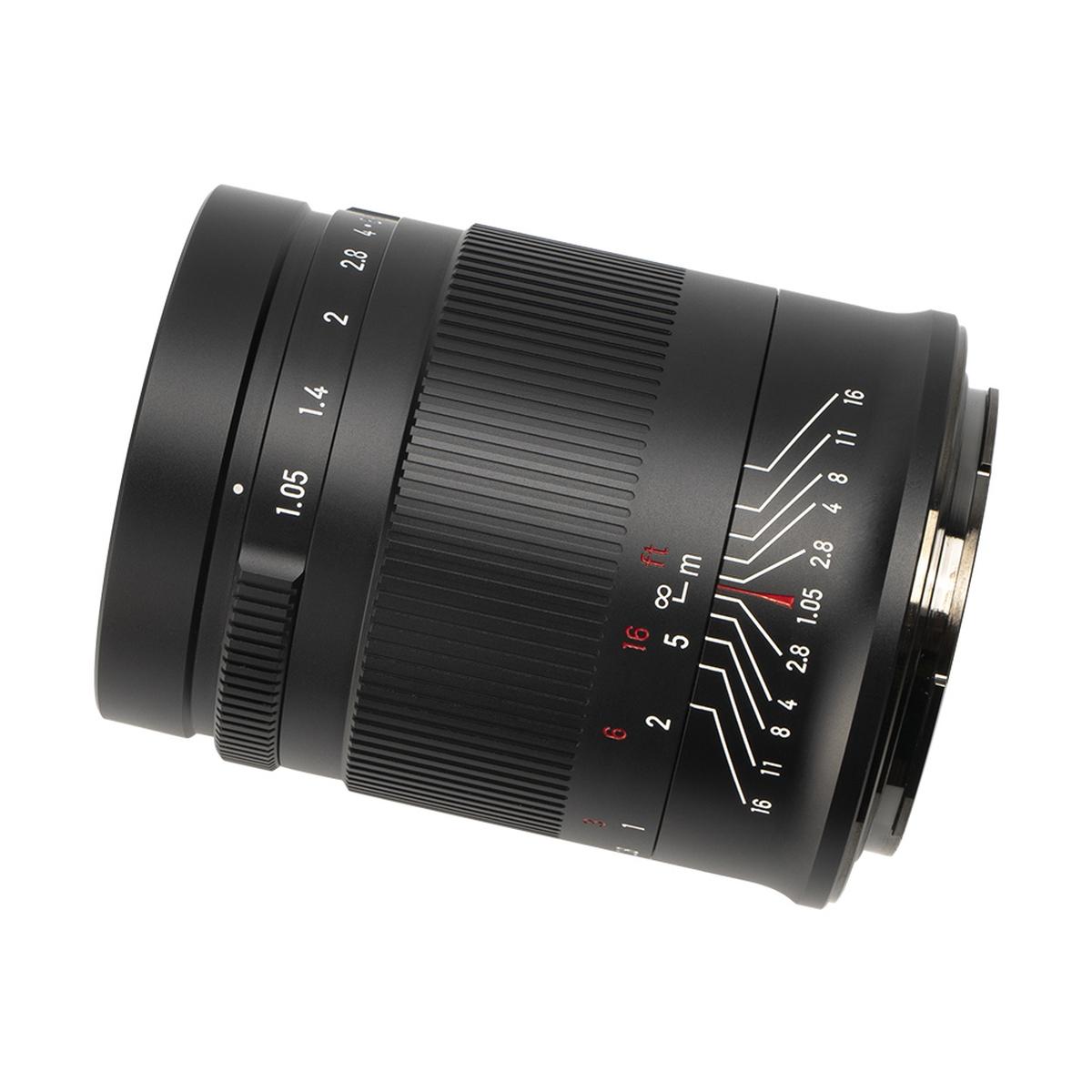 7Artisans 50 mm 1:1,05 für Nikon Z