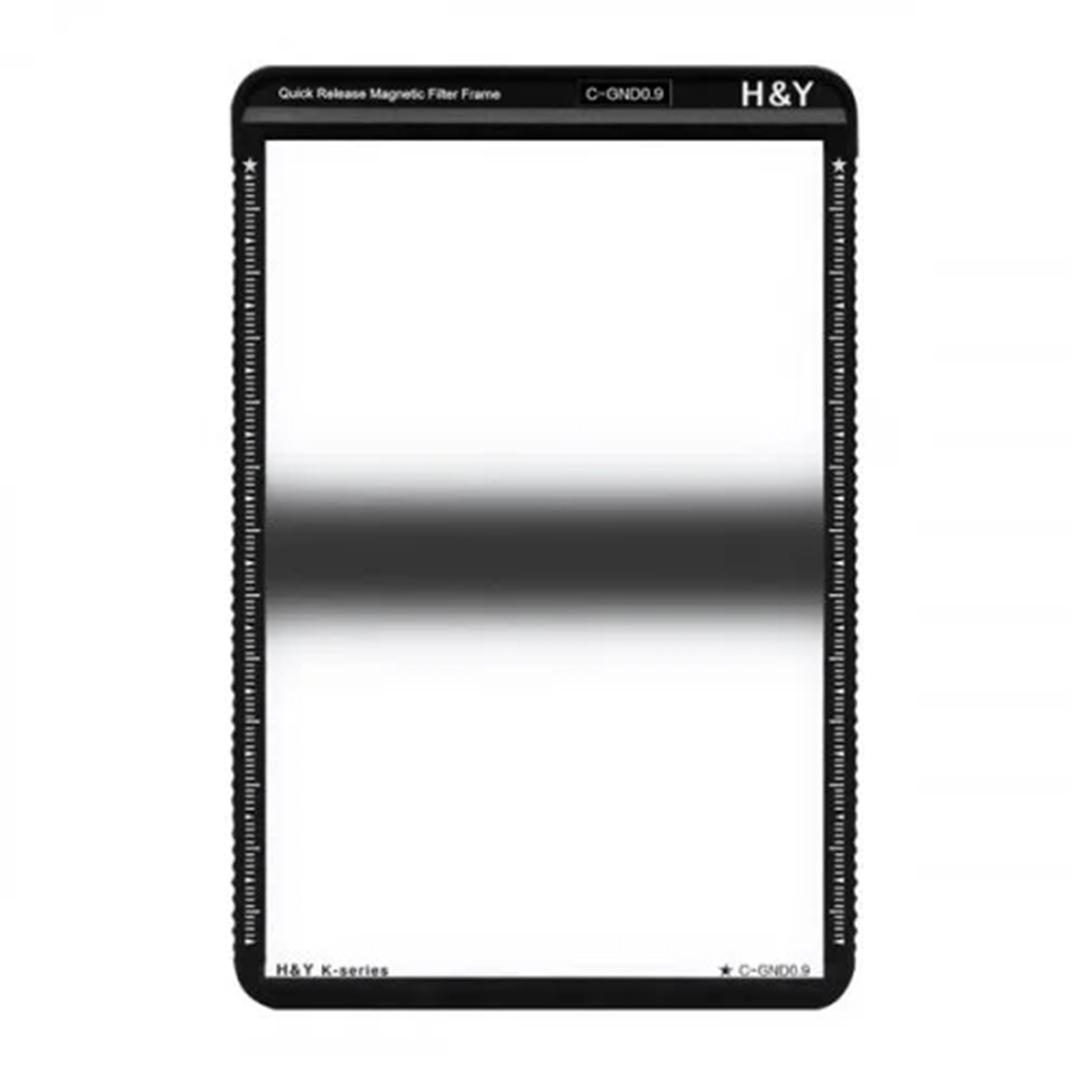 H&Y Grauverlaufsfilter 100x150 mm GND8 Zentral K-Serie