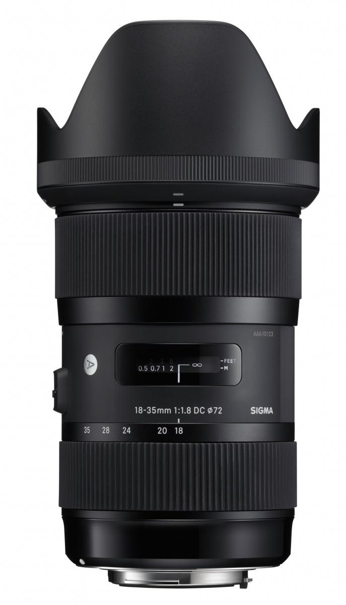 Sigma 18-35 mm 1:1,8 DC HSM Art EF-S