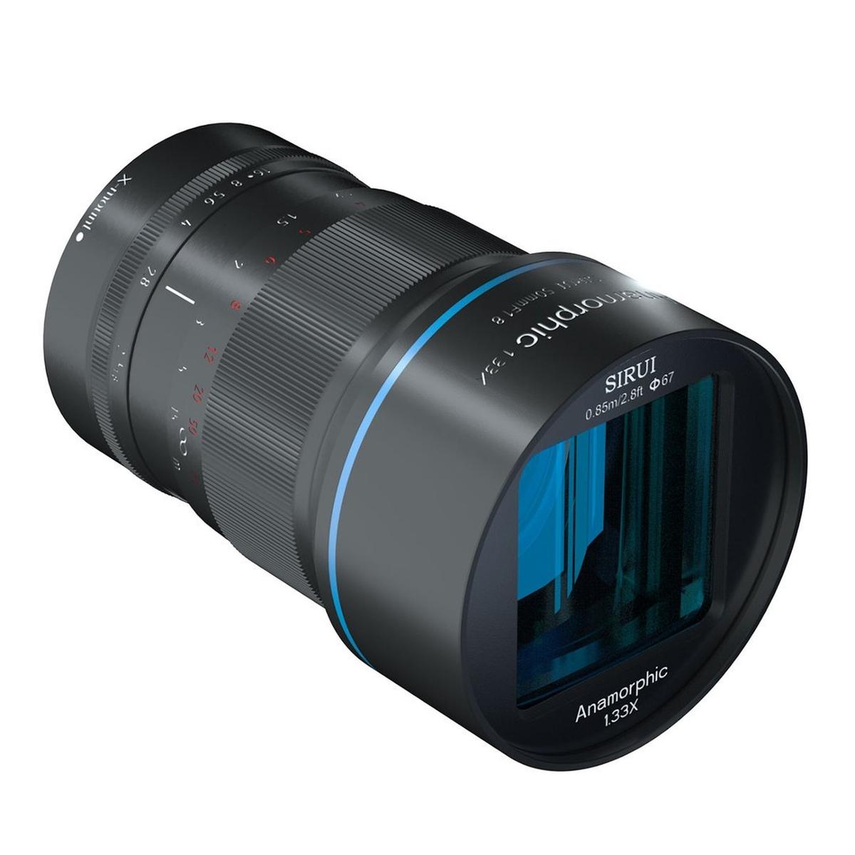 Sirui 50 mm 1:1,8 Anamorph 1,33X für Fujifilm X
