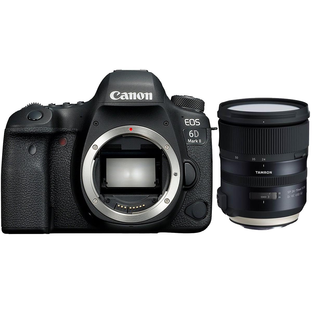 Canon EOS 6D Mark II + Tamron SP 24-70mm 1:2,8 Di VC USD G2
