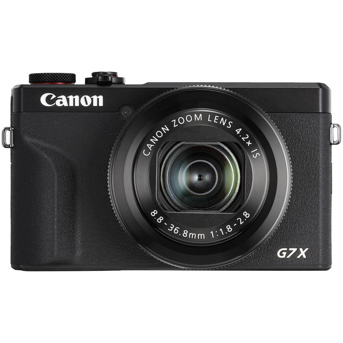 Canon Powershot G7X III Schwarz Premium Kit