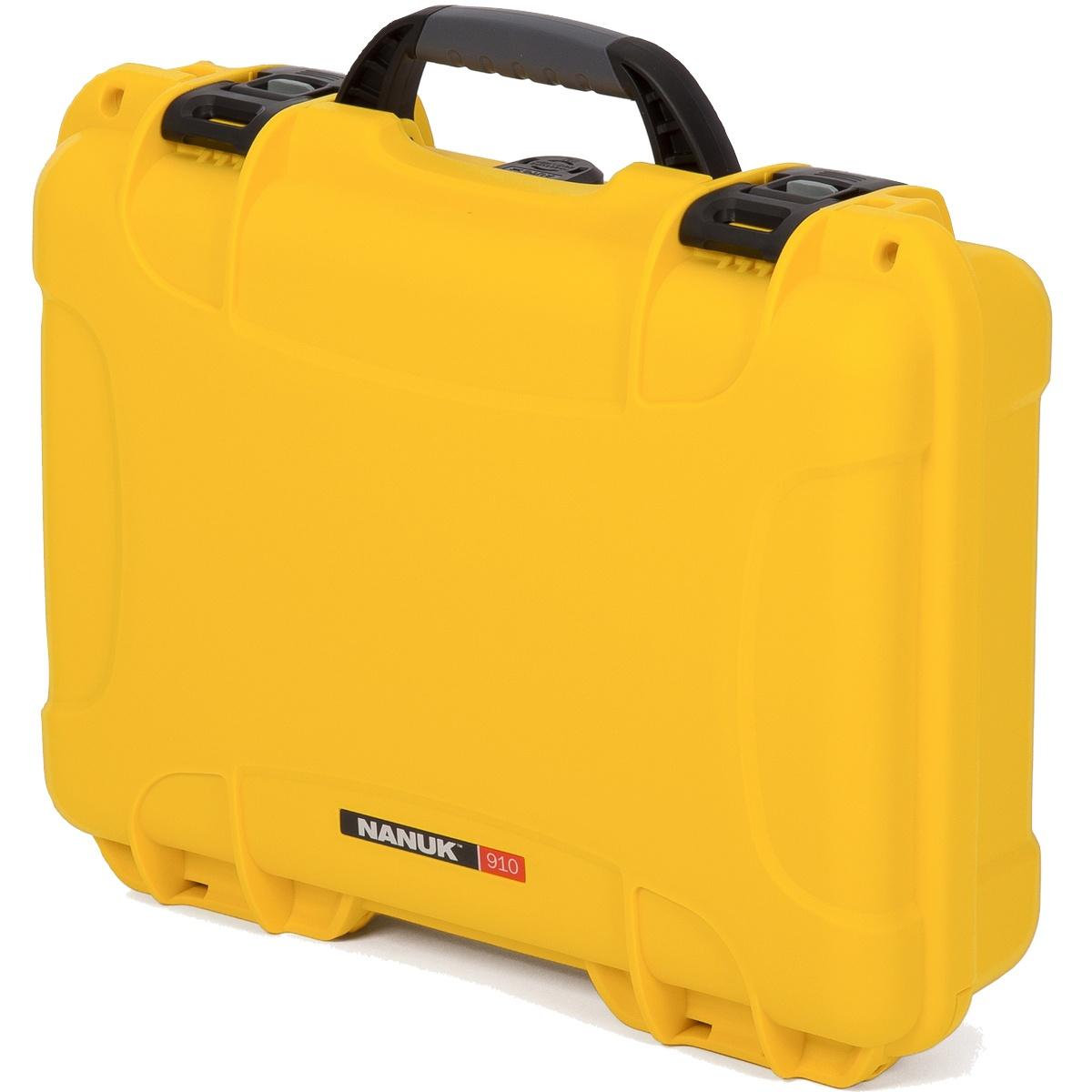 Nanuk Koffer 910 Gelb