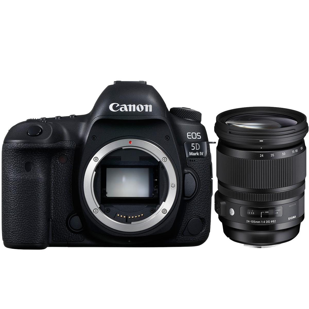 Canon EOS 5D Mark IV + Sigma 24-105mm 1:4,0 DG OS HSM (A)
